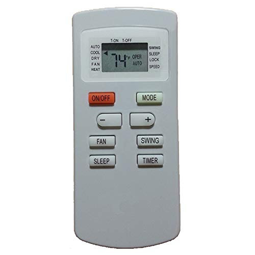 YING RAY Replacement for Impecca Window Air Conditioner Remote Control for Model IWA-06CP IWA-08CP IWA-10CP IWA-12CP