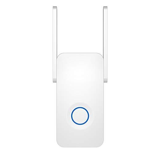 AOUVIK Potente Extensor WiFi de Banda Dual de 1200 Mbps, Amplificador de señal de Internet, repetidor inalámbrico, Antena extensora de Rango Wi-Fi de 2,4 GHz y 5 GHz
