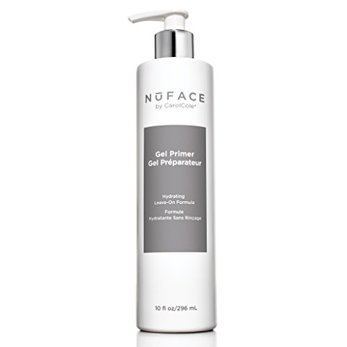 NuFACE Facial Hydrating Leave-On Gel Primer | For Use with NuFACE Devices to Lift Contour Tone Skin + Reduce Look of Wrinkles | FDA-Cleared At-Home System | 10 Fl Oz