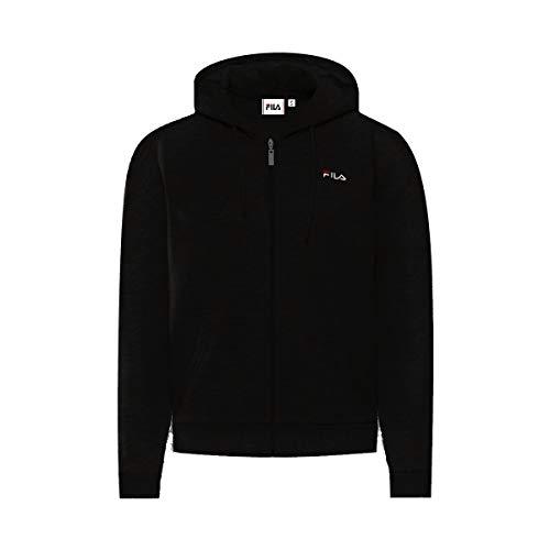 Fila Women Ebony Sweat Jacket Maglione Cardigan, Black, XL Donna