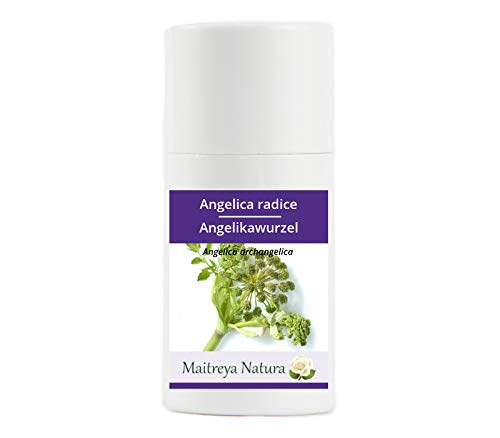 Maitreya Natura Ätherisches Öl biologisch ANGELIKA WURZEL, 100% naturrein, 1ml - Aromatherapie, Diffusor, Massage, Kosmetik - kontrollierte und zertifizierte Qualität, cruelty free, vegan