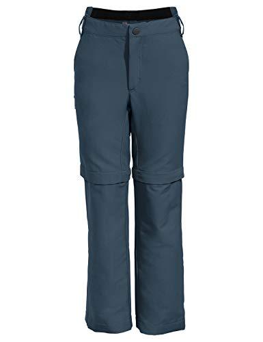 VAUDE Kinder Hose Kids Detective Stretch ZO Pants, steelblue, 134/140, 42261