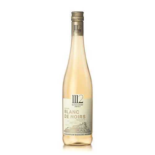 1112 Blanc de Noirs Trocken – Weißwein der Marke Elfhundertzwölf aus Baden (1 x 0,75 l)