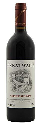 GREATWALL Chinesischer Rotwein Trocken 750ml 12,5% Vol