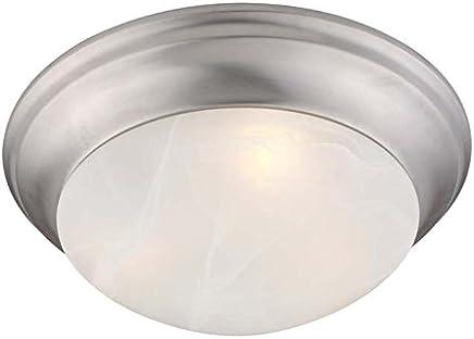 Livex Lighting 7304オメガ3ライトフラッシュマウント天井器具、 7304-91 1