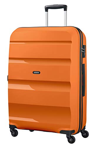American Tourister Bon Air Spinner L Koffer, 75 cm, 91 L, Orange (Tangerine Orange)