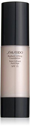 Fundación Shiseido femme/mujer, el número de elevación radiante O20 Natural Light Ochre, 1er Pack (1 x 30 ml)