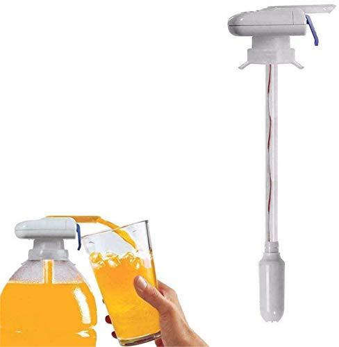 Magic Tap Dispensador de agua y bebida eléctrico automático, pajita de bebida automática, bomba de gas, dispensador de jugo, cerveza, bebida, botella de leche, a prueba de derrames (1PCS)