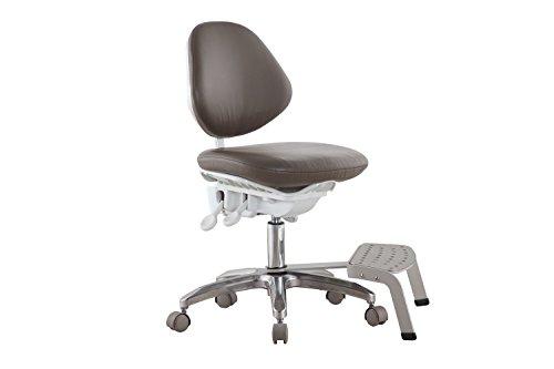 Eerste tandheelkundige stoel voor tandarts dynamisch ontwerp met voet base chirurgische stoel lab stoel DS-PB
