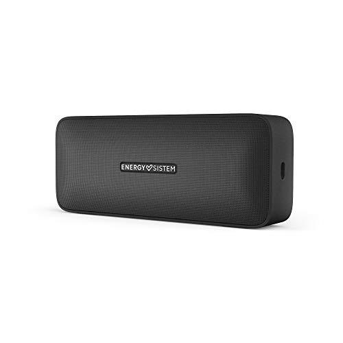 Energy Sistem Music Box 2+ Altavoz portatil Bluetooth Onyx (microSD MP3 Player, FM Radio, Bluetooth 5.0, TWS, 6 W, Audio-in, Hands-Free)