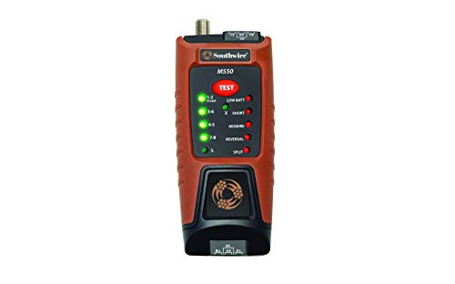 Southwire TESTER, M550 CONTINUITY FOR DATA, COAX