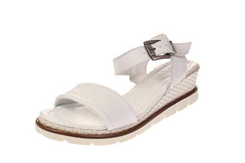 Maca Kitzbühel 2445 - Damen Schuhe offene Schuhe - White, Größe:39 EU