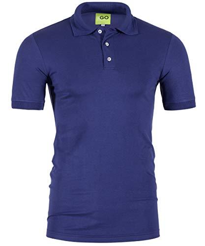 EGOFIRST Sportswear poloshirt - kraag en band in pique