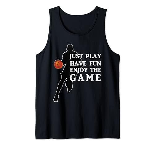 Juego de baloncesto Día Just Play Camiseta sin Mangas