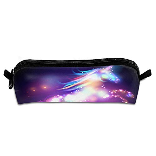 Depaga Dream Unicorn Galaxy Pencil Pen Bag Case Holder Compact Pouch Makeup Bag for Women Men Student Girls Kids Teens