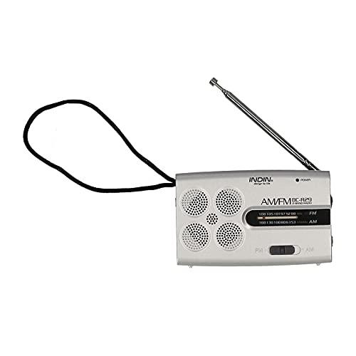 Montloxs BC-R29 AM FM Radio Portatile Tascabile a Batteria Mini Radio Lettore Musicale Alimentato da 2 batterie AA Altoparlante Wireless per casa e all'aperto