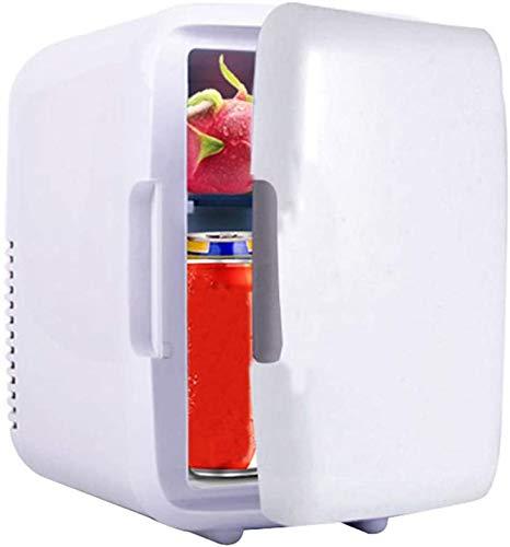 LVYE1 AUTO Tragbare Gefriertruhe 4L Mini Kühlschrank Kühlschrank Autokühlschrank 12V Kühler Heizung Universal Fahrzeugteile,Weiß