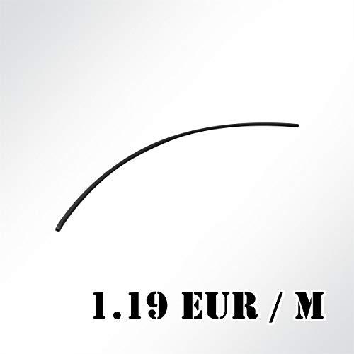 LYSEL® Kedereinlage PVC-Hohleinlage hart Ø 7mm schwarz