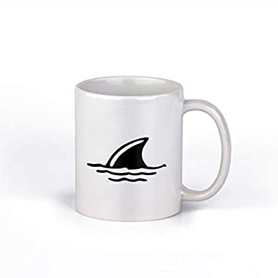 Shark Fin Coffee Mug 11-Ounce Coffee Mug | M179