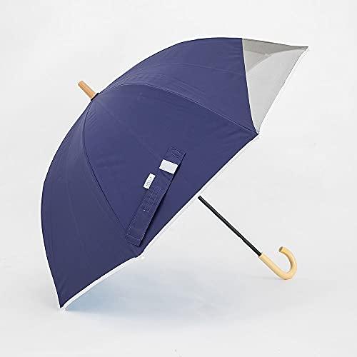 小川(Ogawa) キッズ長傘 子供日傘 そよパラ 昨年話題となった子供日傘のパイオニア 涼しい 55cm UVカット率&遮光率99%以上 遮熱加工 安全手開き クールアップ ネット付き チャイルドパラソル ネイビー LINEDROPS ラインドロップス 57194
