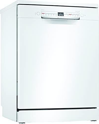 Bosch Electrodomésticos SMS2HTW54E Serie 2 - Lavavajillas de libre posicionamiento, 60 cm, color blanco