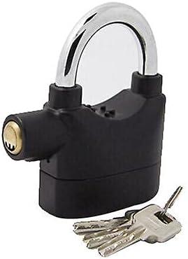 NC 110db Cheap bargain Ranking TOP18 aluminum alloy alarm weatherproof lock warehouse l door