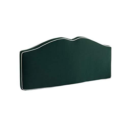ZHEYANG Cojin Lectura Soporte Cama Cuña Almohada Colchón Almohada Lectura Almohada Corta Gran Felpa Lavable Multicolor/Multi-tamaño (Color : Green, Talla : No Bed Type)