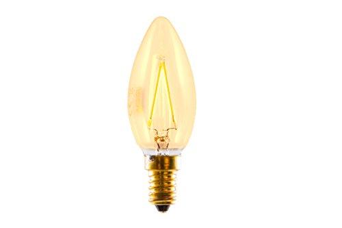 Silver Electronics Edison Ampoules, 2200 K E14, 3 W