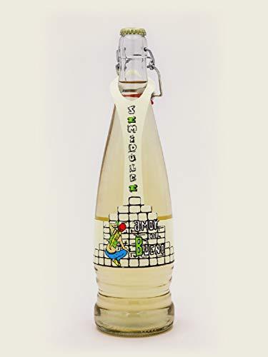 Botella De Vino Blanco AMOR DEL BUENO Semidulce De La Tierra De Extremadura 75cl Botella De Vino Blanco AMOR DEL BUENO Semidulce De La Tierra De Extremadura 75cl Variedad Uva