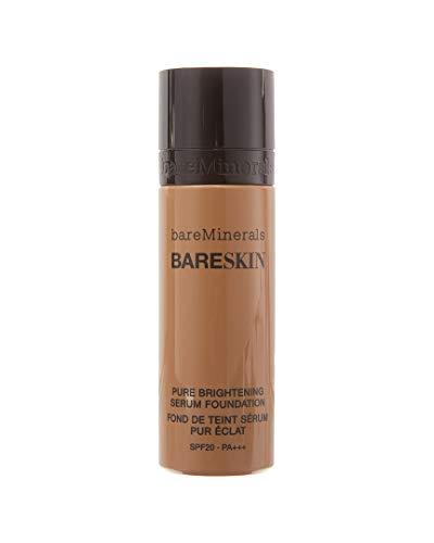 bareMinerals bareSkin Pure Brightening Serum Foundation SPF 20, Bare Beige 08, 1 Fl Oz