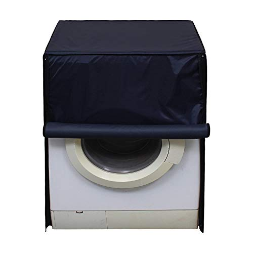 Amazon Brand – Solimo PVC Water Resistant Front Load Fully Automatic Washing Machine Cover, Royal Blue