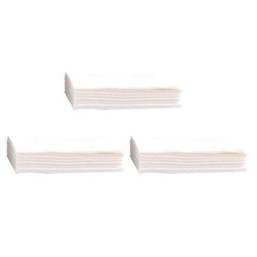Cabilock 3 Dozen Wasmachine Anti-Verven Doek Verven Proof Kleurabsorptie Vel Waspapier Voor Thuis Slaapzaal Wasbenodigdheden (Wit)