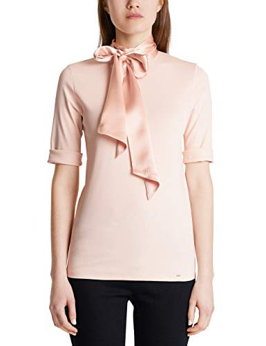 Marc Cain Collections T-Shirts T-Shirt, Beige (Nude 206), 48 (Taglia Produttore: 5) Donna