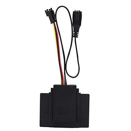 Weikeya Interruptor de inducción LED, Hecho de plástico DC5-24V 10MA Sensor de Movimiento para Espejo de baño DC5-24V