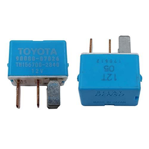 Air Conditioner Relay Replace Part 90080-87026 90987-02027 Replacement for Toyota Prius Lexus Camry Prius RAV6