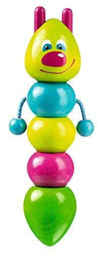bester der welt HABA 122.216 Wehrfritz Spinning Worm Lernspielzeug, modulares Spielzeug, Entwicklung der Feinmotorik,… 2021