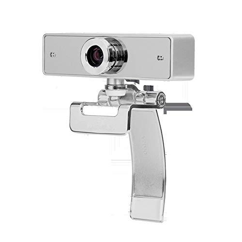 Wdonddonsxt Webcam 1080P HD Webcam, Cámara De La Computadora con El Micrófono De Controlador USB Libre, Cámara Web del Ordenador En Línea En Vivo For El Ordenador Portátil O De Escritorio Web CAM