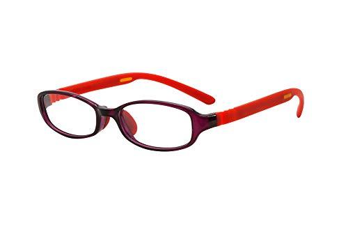 FLOAT READING フロート リーディング (老眼鏡) テンプル(腕)のカラーを選べる グッドデザイン賞受賞のオシャレな老眼鏡 鯖江企画 驚きの掛け心地 首にも掛けれる ブルーライトカット 超軽量 モデル:アメジスト (アメジスト   レッド, 度