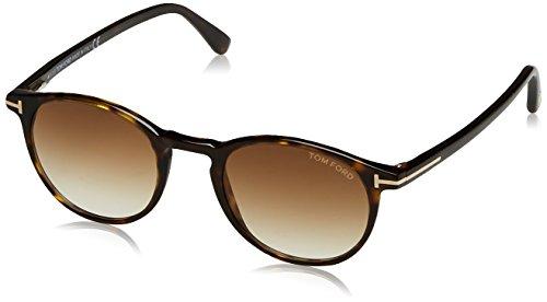 Tom Ford FT0539 52F 48 gafas de sol, Marrón (Avana ScuraMarrone Grad), 48.0 para Hombre