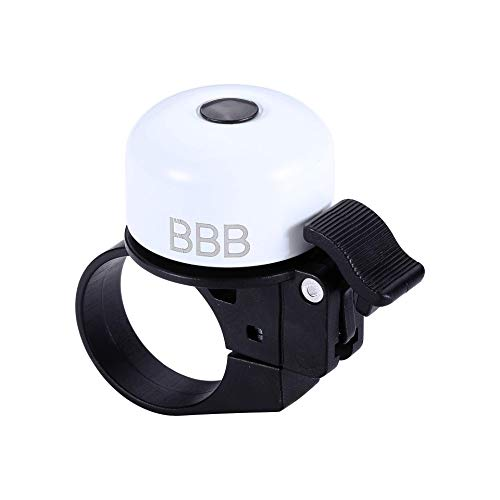BBB CyclingLoud&Clear Fahrradklinge|Langlebige und leichte Glocke|Schraubklemmmechanismus passend für 31,8 mm, 25,4 mm und 22,2 mm