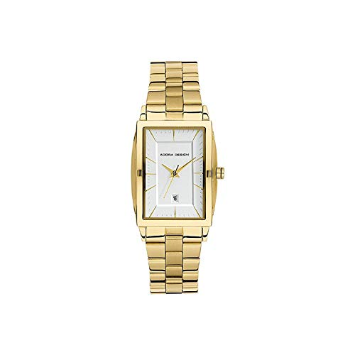 Adora Design Damenuhr Stahl IP Gold, 1-204085-001