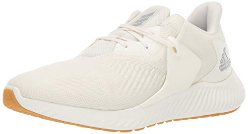 adidas Men's Alphabounce Rc 2 Running Shoe, Silver Metallic/Cloud White, 11 M US