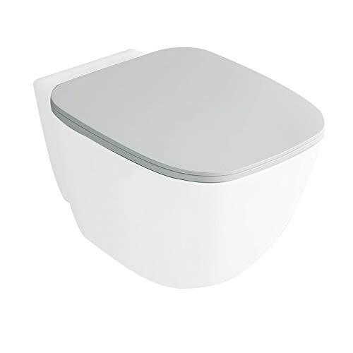 Inbagno Tavoletta Coprivaso RAK ceramiche Serie One Flat Originale con Chiusura rallentata Soft-Close