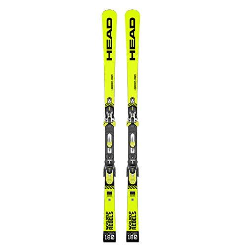Head - Pack de esquí para WC Rebels I.Speed Pro SW + Fijaciones FF EVO 16 – Hombre – Amarillo