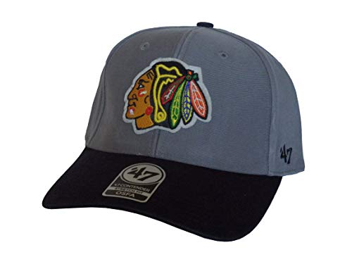 47 Brand Chicago Blackhawks Contender Stretch Fit Cap - Gorra para hombre...