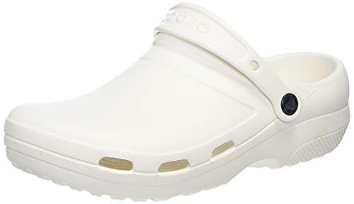 Crocs Specialist II Vent Clog, Zuecos Unisex Adulto, Blanco (White 100), 36/37 EU