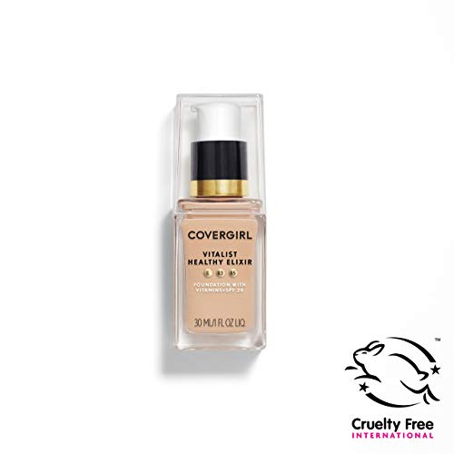 COVERGIRL Vitalist Healthy Elixir Foundation, Classic Ivory 710, 1 Ounce (packaging may vary)
