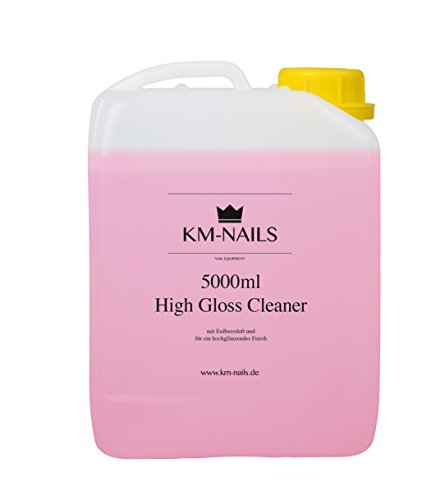 km-nails Lot de 5000 ml High Gloss Cleaner avec parfum framboise