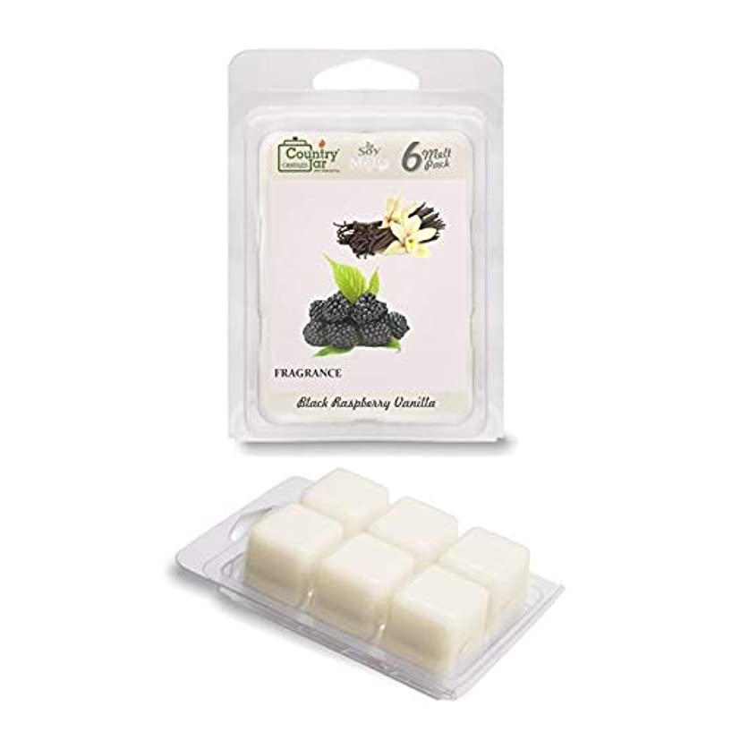 Country Jar Black Raspberry Vanilla Soy Wax Melts/Tarts (2.75 oz. 6-Cube Pack) Spring Pick-3 Sale! See Details.