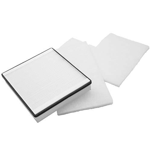 vhbw 3x Ersatz Luft-Filter Grobfilter + Feinfilter passend für Vallox KWL 080 SC, 080 SE, 090 SC, 090 SE, 091 SC, 90 K MC, 90 K SC Lüftungsgerät